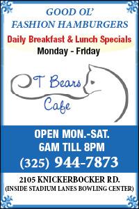 T Bears Cafe